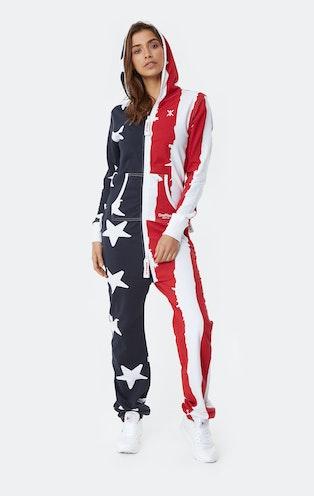 Onepiece USA Onesie Stars and Stripes