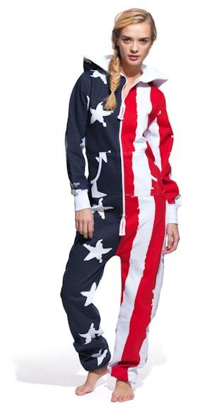 d2b71b764c6d Onepiece USA Onesie - Stars and Stripes USA Onesie