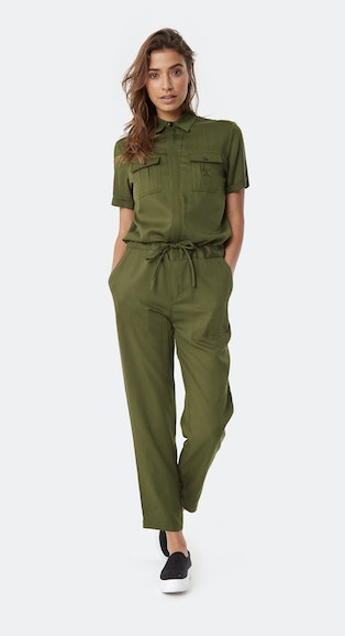 27ba29f75a4 Onepiece Utility Jumpsuit Army