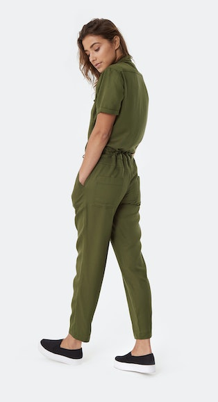 Onepiece Utility Jumpsuit Army