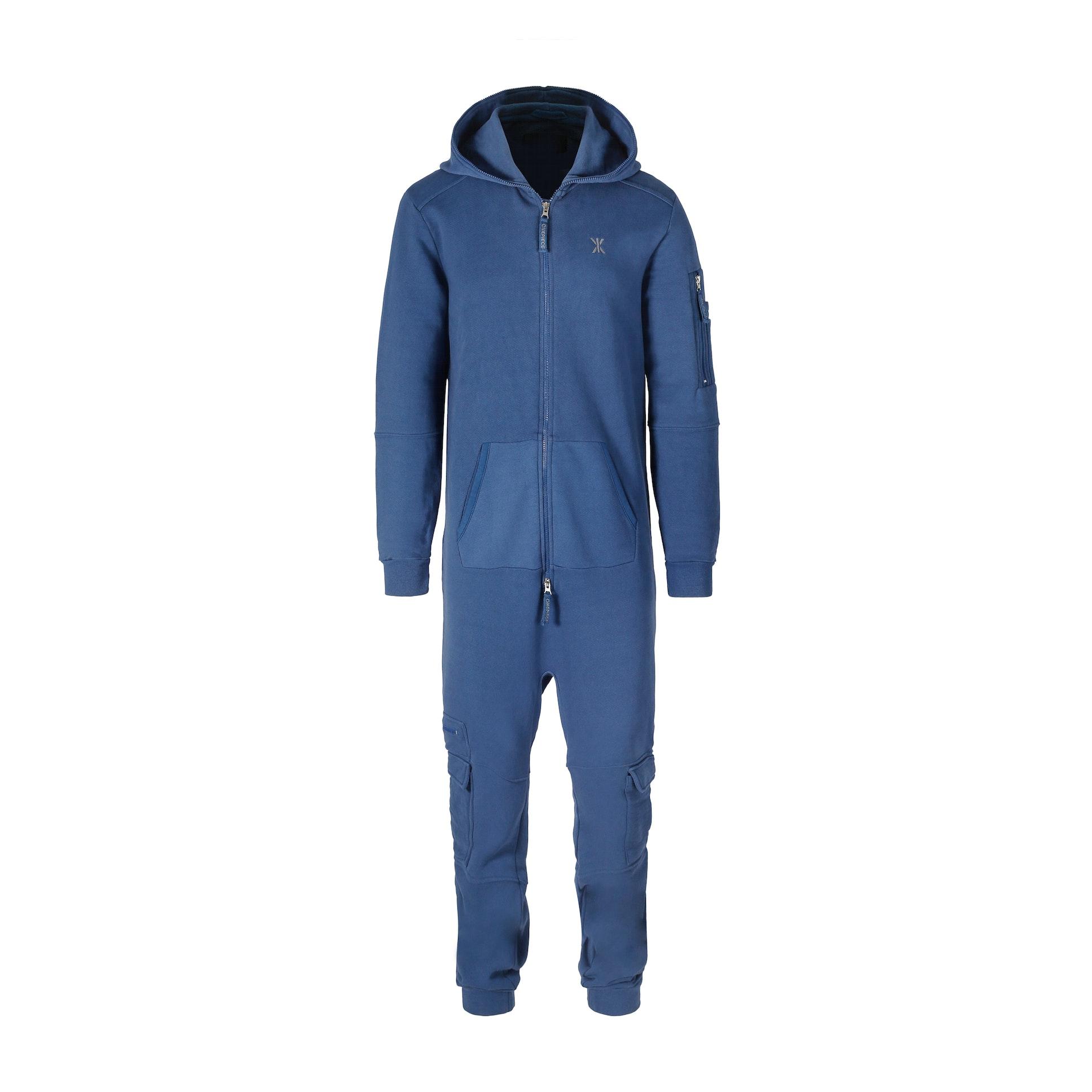 utility jumpsuit mid blue