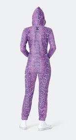 Onepiece Venomous Slim Jumpsuit Purple