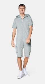 Onepiece Vintage Cargo Short jumpsuit Grey