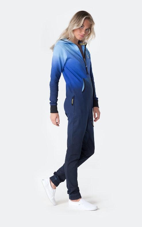 Onepiece Vintage Sunset Jumpsuit Blau