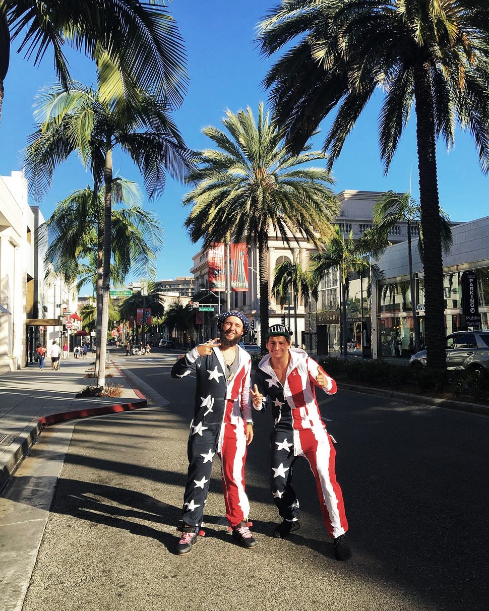 vitaly-zdorovetskiy-wearing-stars-and-stripes-jumpsuit-onepiece-onesie-american-flag-4th-of-july-fourth-independence-day