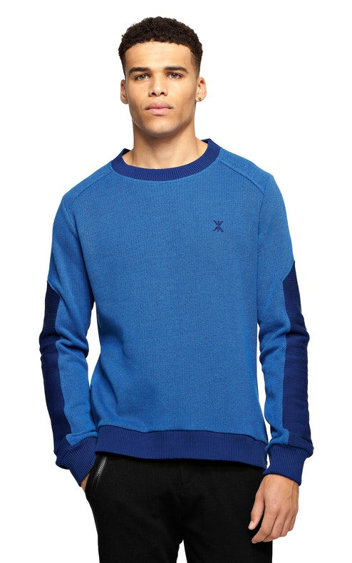 Onepiece Walk Sweater Depth Blue Melange