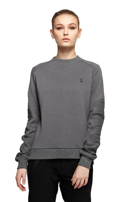 Onepiece Walk Sweater Dark Grey Melange