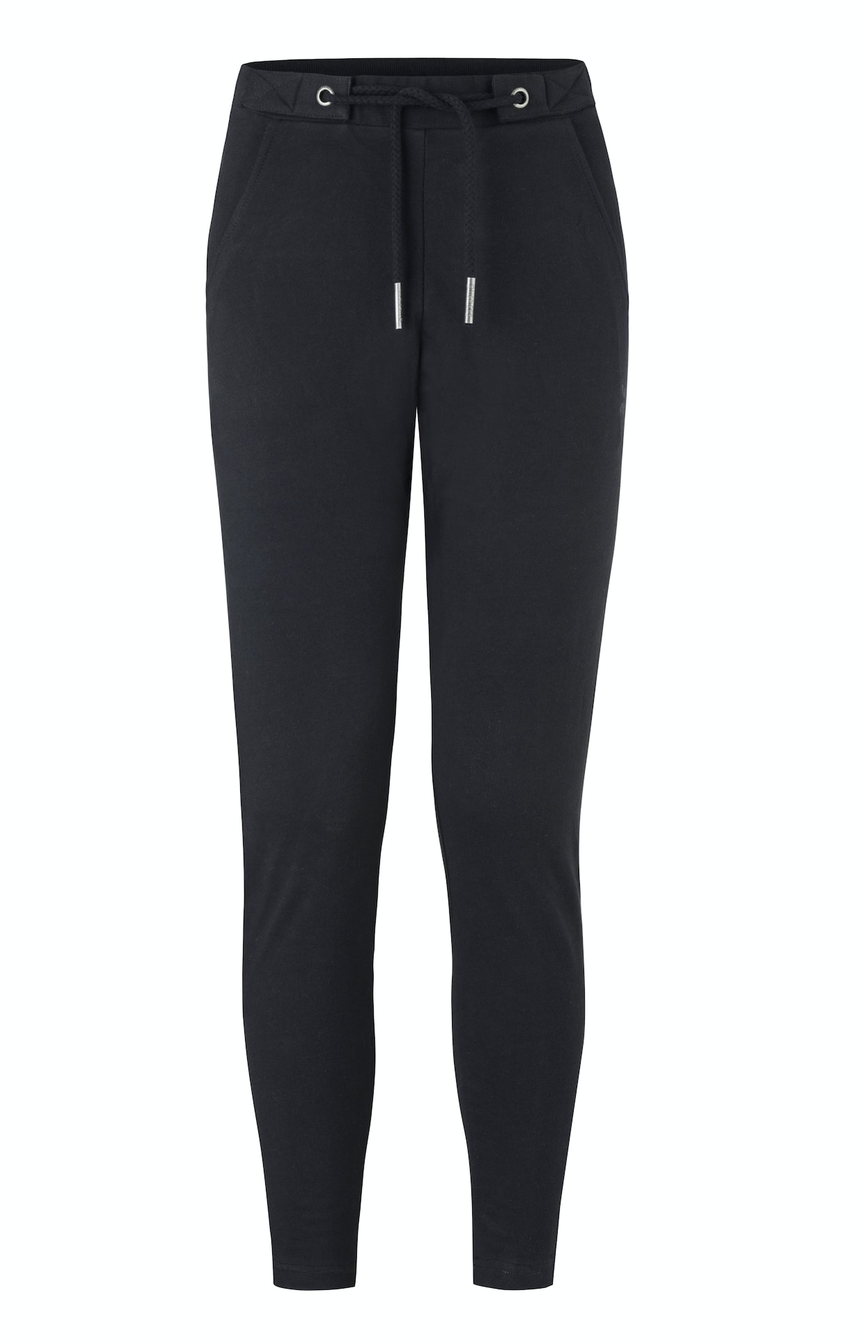 Whatever Pants Black Black drop crotch womens jogger pant with loose fit in premium soft cotton.