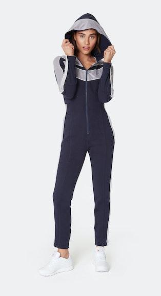 "Onepiece ""Sporty"" Sofa Sunday Slim Jumpsuit Navy"