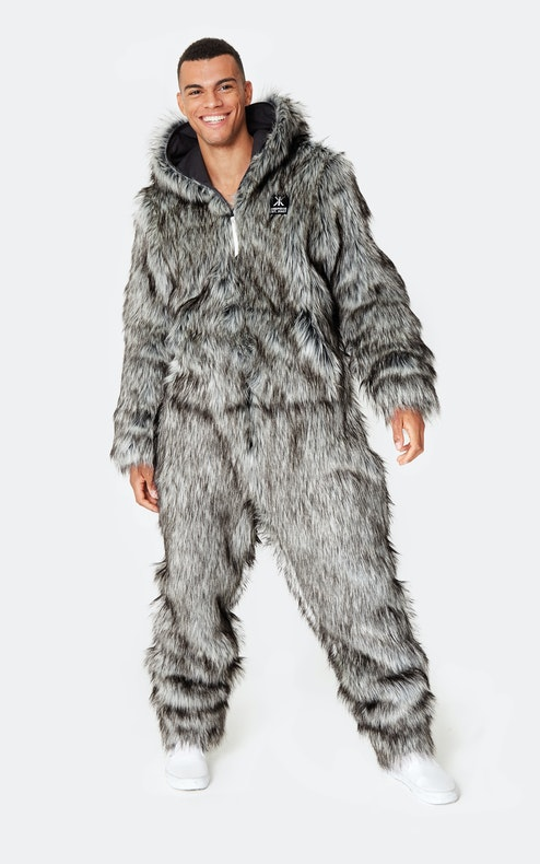 Onepiece Winter is Coming So What Jumpsuit Grey Mel
